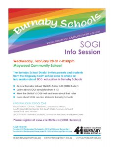 SOGI in Schools @ Maywood Community School | Burnaby | British Columbia | Canada