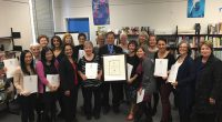 """Teachers in Burnaby School District's LINC program have won another award. This time it's first place in the cross-Canada-CCLB """"Language is the Key"""" contest in the category teacher/administrator. Additionally, Natasha […]"""