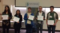 Moscrop's Brennan Strandberg-Salmon and Burnaby Mountain student Griffin Andersen were recently recognized for their environmental stewardship work. They each received the Dr. M. Wosk Environmental Leadership Award from the […]
