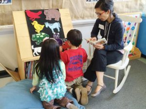 On My Way to Kindergarten - Indigenous Students @ Stride Avenue StrongStart Centre