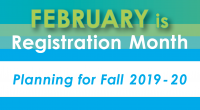 February is registration month. Priority placement for Fall 2019 will be given to those who apply during the month of February. The following students should register during the month the […]