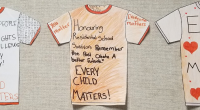 Every year teachers, staff and students honour an important day in our District and throughout Canada: Orange Shirt Day, which is on September 30. It's one of the visible […]