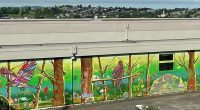 With school communities throughout the District embracing the benefits of learning outside, Kitchener Elementary started the school year with a new mural for their outdoor learning space. The massive […]